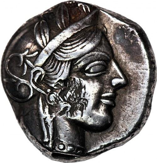 Naśladownictwa monet ateńskich - Syria / Egipt, Tetradrachma po 450 pne.