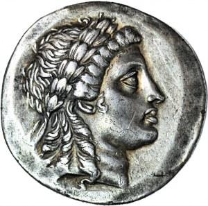 Grecja - Aiolis, Miasto Myrina, Tetradrachma przed 165 pne