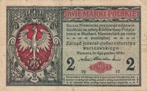 2 marki 1916 jenerał, ser. A