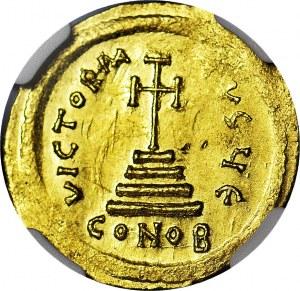 Cesarstwo Bizantyjskie, HERAKLIUSZ ( 610 - 641 ne ), Solid ( bez daty )