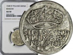 R-, Zygmunt I Stary, Grosz 1546, rzadki, R2, T 6mk