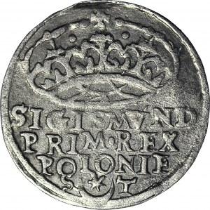 RR-, Zygmunt I Stary, Grosz 1547/6 Kraków