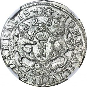 Zygmunt III Waza, Ort 1625 Gdańsk, menniczy