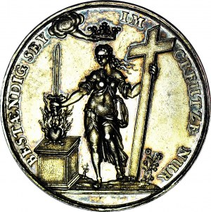 R-, Medal 1629 Jan Höhn - Gdańsk, Kongres Teologiczny w Lipsku