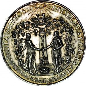 RR-, Jan Kazimierz, medal zaślubinowy Jan Höhn