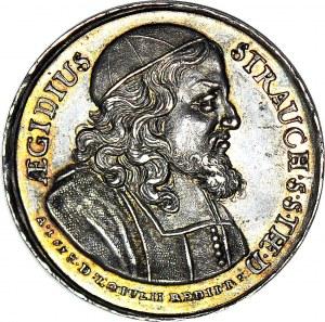 Jan III Sobieski, Medal 1678 Gdańsk, na cześć Aegidusa Straucha