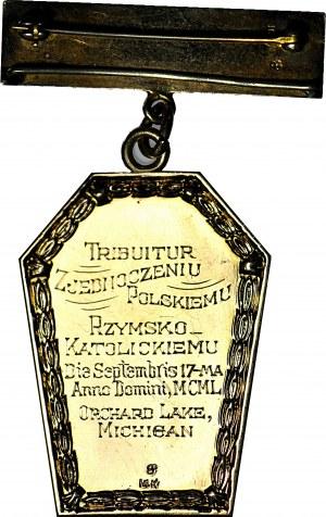 RRR-, Złota odznaka polonijna, Seminarium św. Cyryla i Metodego Zjednoczeniu Polskiemu 1950
