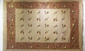 Kilim bawełniany Art Deco