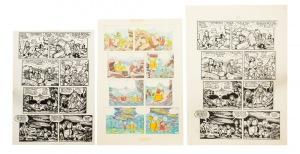 J.W. Christa, Plansza do komiksu