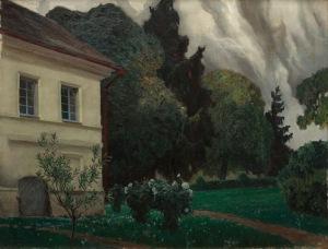 Ferdynand Ruszczyc, GNIAZDO, 1908