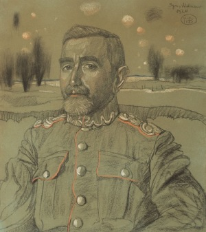 Stanisław Ignacy Witkiewicz Witkacy, PORTRET STANISŁAWA NIKLASA, 1920