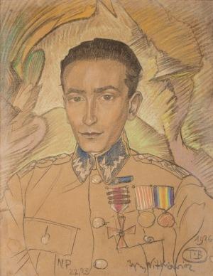 Stanisław Ignacy Witkiewicz Witkacy, PORTRET ZDZISŁAWA CZERMAŃSKIEGO, 1926