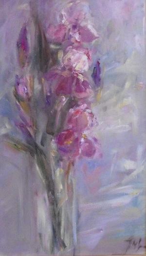 Jarosiewicz Maria Jadwiga (1952), Irys różowy 2013 r