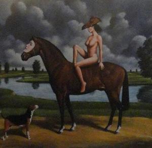 Olbiński Rafał (1943), Koń, 2017