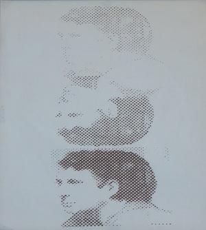 Tarasin Jan (1926-2009), serigrafia, Autoportret, 1970