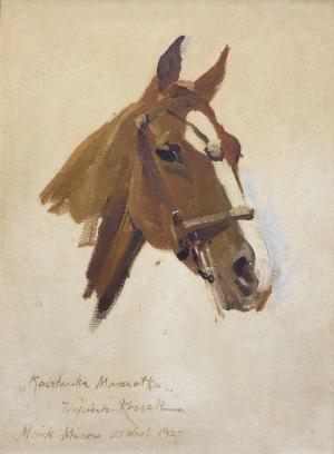 Kossak Wojciech, KASZTANKA MARSZAŁKA, 20 WRZEŚNIA 1927