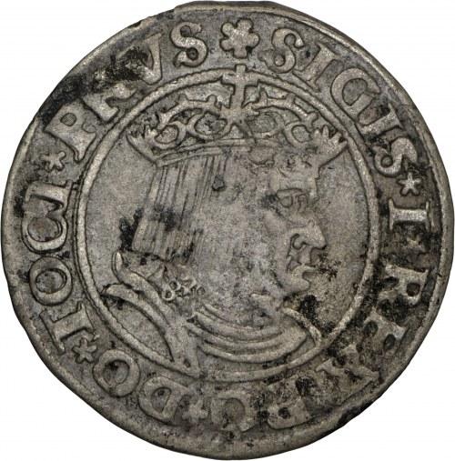 zestaw 2xgrosz, Zygmunt I Stary, 1530, Toruń, odmiana GROS i GROSS na awersie