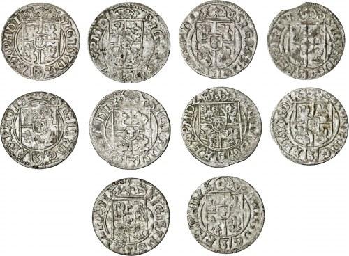 zestaw 10 półtoraków, Zygmunt III Waza, Bydgoszcz