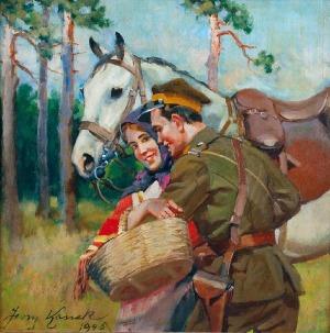 Jerzy KOSSAK (1886-1955), Umizgi, 1946