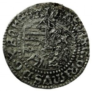 półgrosz, Wrocław, Maciej I Korwin (1469- 1490), DWUKROTNIE BITY!