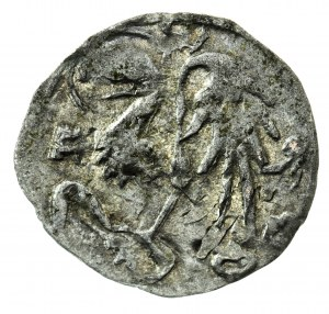 halerz, ok. 1430-1440, Oleśnica, Konrad VIII Młodszy (1416-1444/1447)