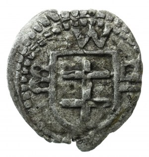 halerz, Wschowa, Władysław III (1434-1444) lub Kazimierz II Jagiellończyk (król Polski, 1447-1492), (R6)