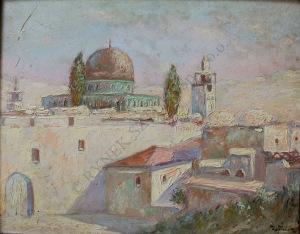 Maurycy Apfelbaum (1887-1931), Jerozolima