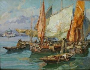 Angelo Brombo (1893-1962), Wenecja