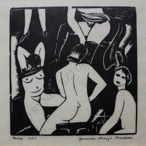Janusz M.Brzeski (1907-1957), La bourdelle (1929)