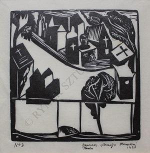 Janusz M.Brzeski (1907-1957), Apollinaire-wspomnienie[Cmentarz] (1929)