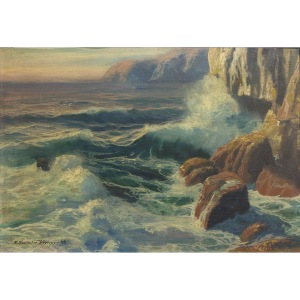 Feliks Kazimierz Wygrzywalski (1903 Rzym - 1966 Warszawa), Wzburzone morze