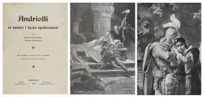 Elwiro Andriolli (1836-1893), Henryk Piątkowski, Henryk Dobrzycki, Andriolli w sztuce i życiu społecznym
