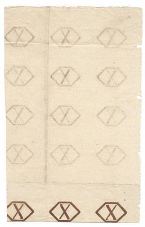 Arkusz 18 sztuk banknotów 1794 - ilustrowany w katalogu LUCOW