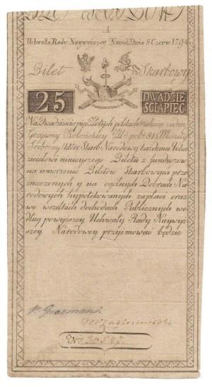 25 złotych 1794 - A - COMP -