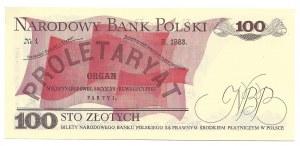 100 złotych 1976 - DW - UNC
