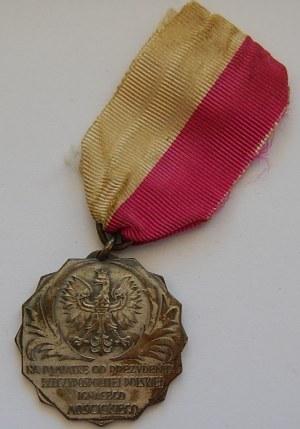 Medal od prezydenta Ignacego Mościckiego - Postawy 24.VI.1930