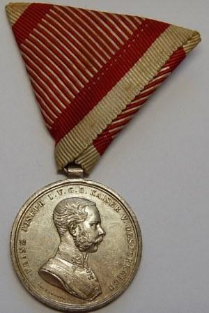AUSTRIA - Franciszek Józef - Medal za odwagę