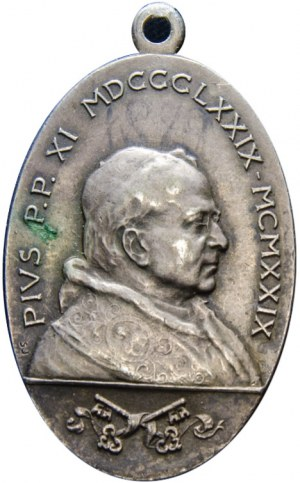 WATYKAN - medalik z okazji beatyfikacja Jana Bosko 02.06.1929 - Pius XI