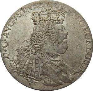 August III Sas - ort 1754 - Lipsk EC -
