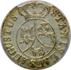 Poniatowski - 6 groszy 1795 - PCGS MS 62