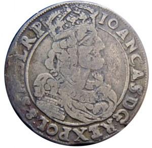 Jan II Kazimierz - ort 1663 - AT Kraków