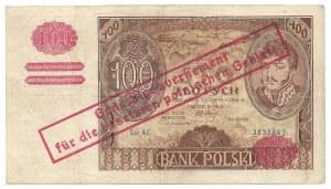 100 złotych 1932 - AE - fałszywy nadruk