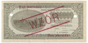 1 milion marek 1923 WZÓR -C-