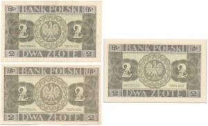 2 złote 1936 - Komplet odmian
