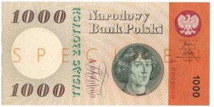 1.000 złotych 1965 SPECIMEN A000000