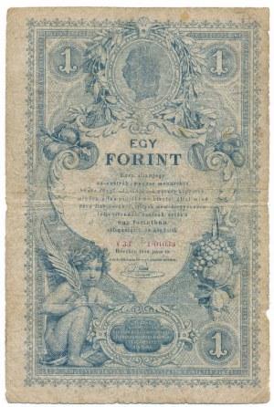 Austria 1 gulden 1888