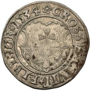 Zygmunt I Stary, Grosz Elbląg 1534