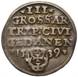 Zygmunt I Stary, Trojak Gdańsk 1539