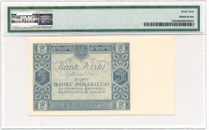 5 złotych 1930 Ser. BJ. PMG 64