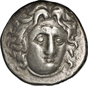 GRECJA - Rodos, Karia, didrachma ok. 305-275 pne,
